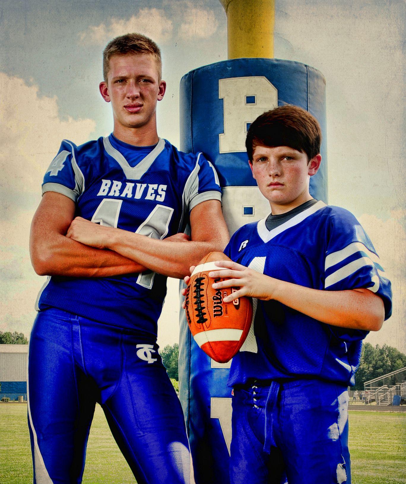 brothers sports football portrait high school | Sports ...
