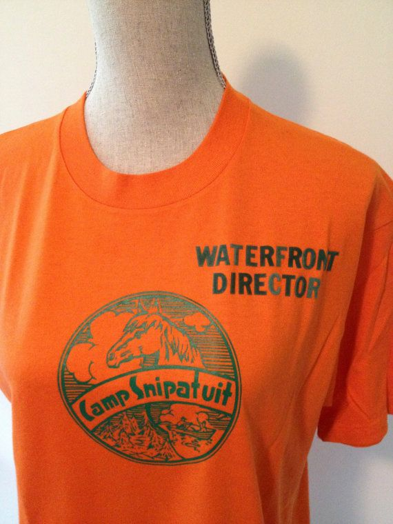 Vintage Snipatuit Equestrian Camp Tshirt by 21Vintage on Etsy, $10.00