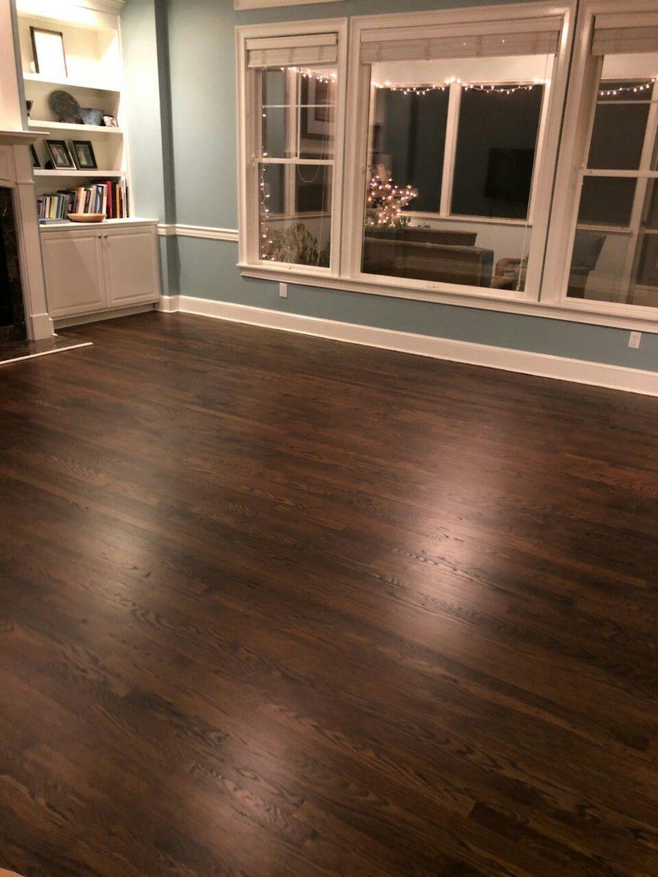Dark Walnut minwax. Peachtree City Ga. Flooring