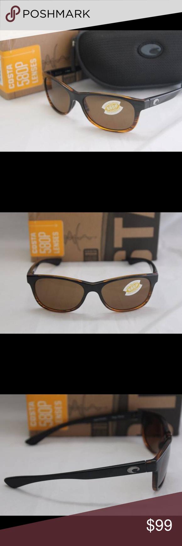 1952c146a1329 New Costa Del Mar Prop 580P Sunglasses Coconut Fd Brand new in the box Costa  Del
