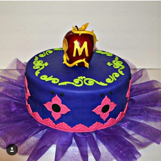 Disney Descendants Wicked World Cake Mate S Cakes And