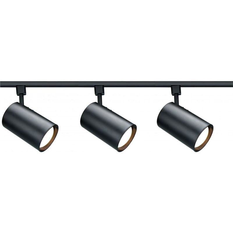 Nuvo Lighting Tk319 Black 3 Light 48 Wide H Track Track Kit Track Lighting Kits Black Track Lighting Track Lighting