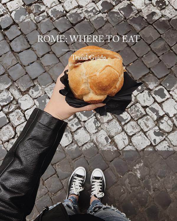 ROMA: DOVE MANGIARE E BERE