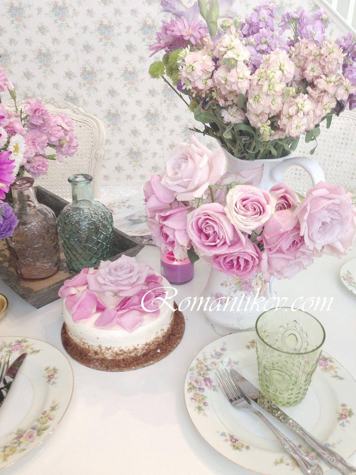 Romantikev Romantikevim Romantik ev dekorasyonu Shabby chic blog Magical times