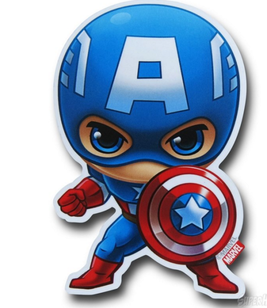 Captain America Capitan America Dibujo Capitan America Animado Vengadores Bebe