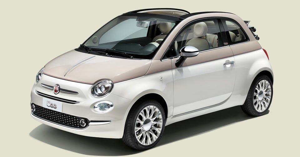Limited Edition Fiat 500 Sessantesimo Is All About Celebrating