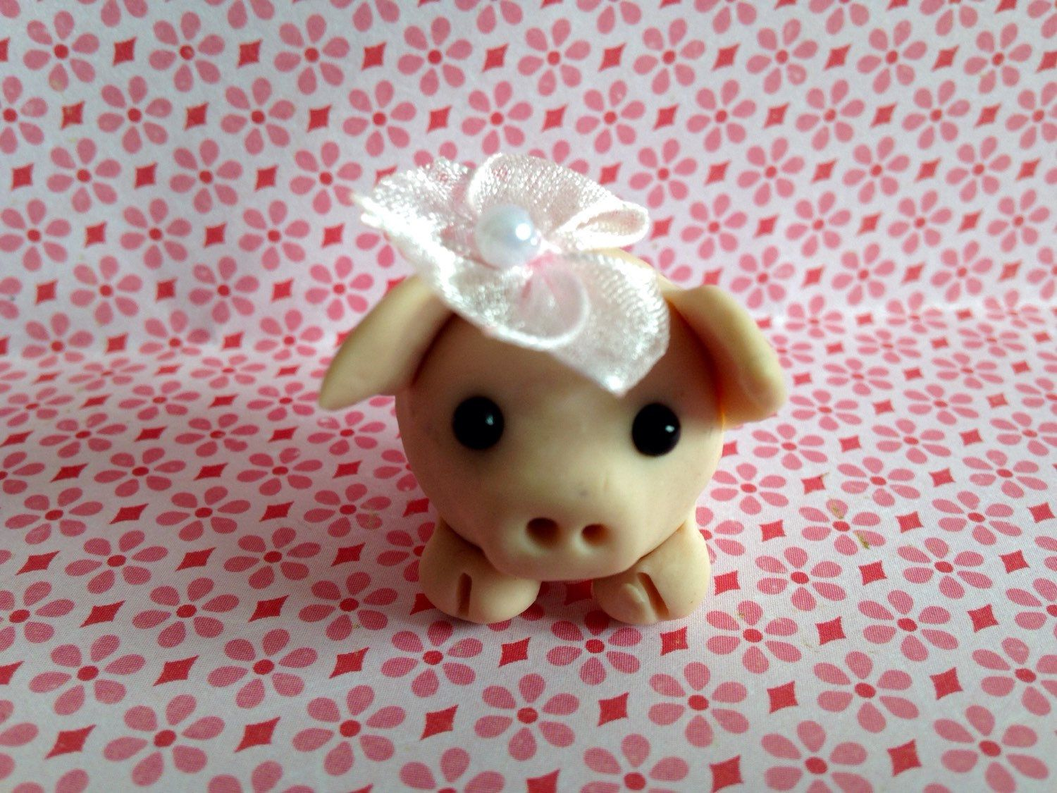 A personal favorite from my Etsy shop https://www.etsy.com/listing/223935085/nora-the-pig