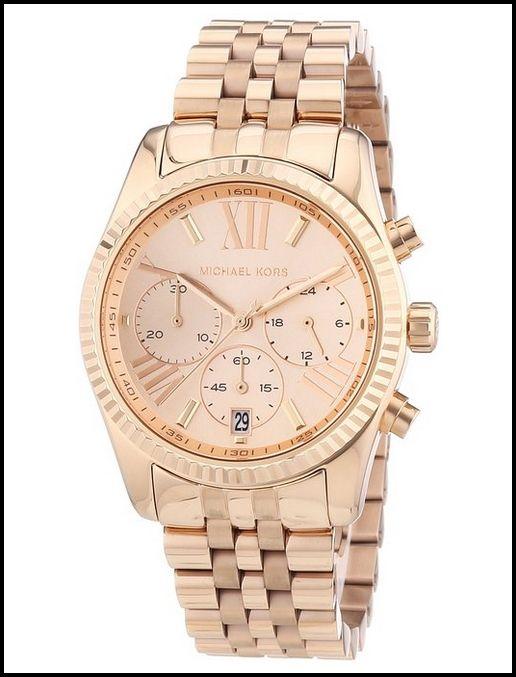 Michael Kors MK5569 Rose Gold – Women's Watch | Michael kors