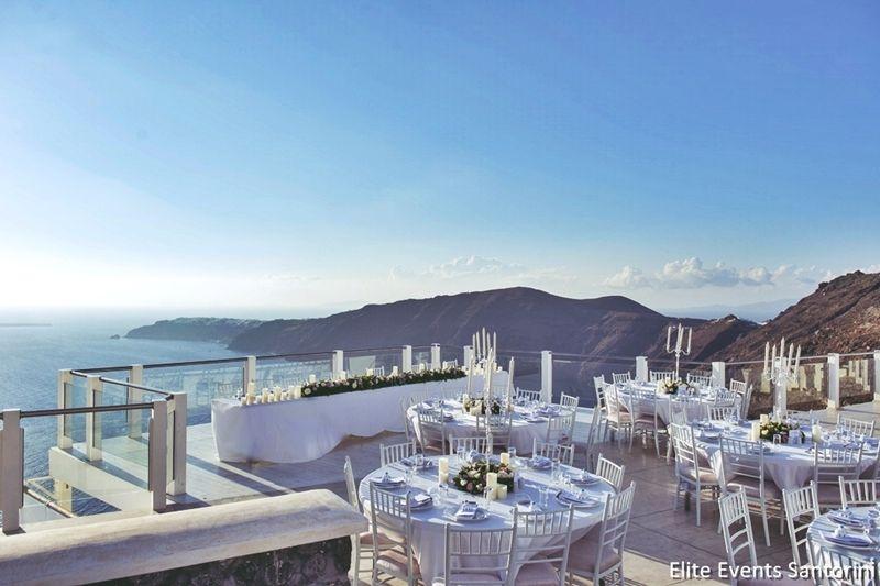 Santorini Wedding Venue With Caldera View Jpg 800