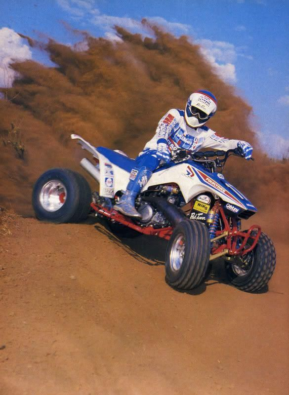 Honda 250r Fourtrax  Photo Courtesy of Vintage Factory ATC Racer