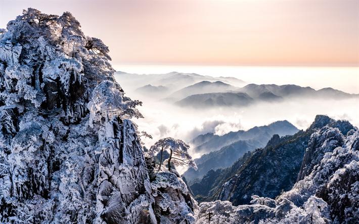 Scarica Sfondi Paesaggio Di Montagna Invernali Neve Montagne