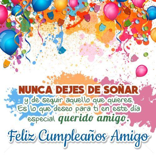 Tarjeta De Feliz Cumpleaños Para Un Amigo Soñar Jpg 500 500 Feliz Cumpleaños Amiga Postales De Feliz Cumpleaños Tarjeta Feliz Cumpleaños Prima