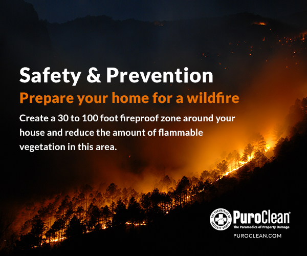Safety Prevention Prepare Your Home For A Wildfire By Creating