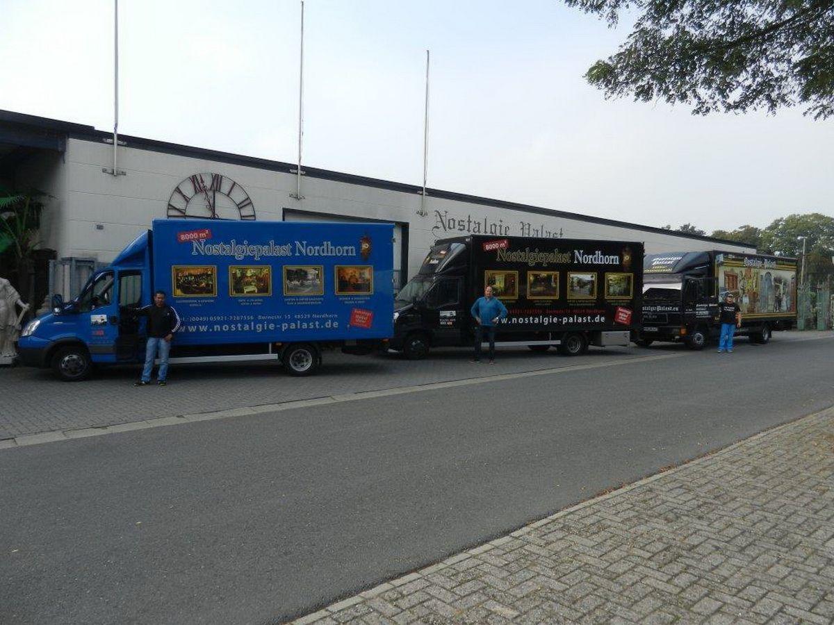 Fuhrpark des Nostalgiepalast Nordhorn #fuhrpark #lkw #lieferung ...