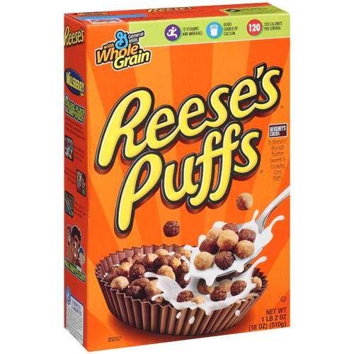 Walmart.com: Reese's Puffs Cereal, 18 Oz: Breakfast