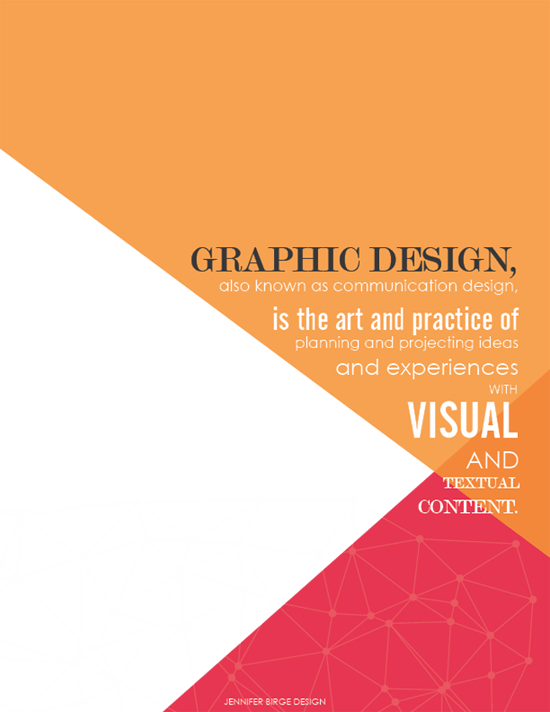 Jennifer Birge Design Graphic Design Communication Design Design