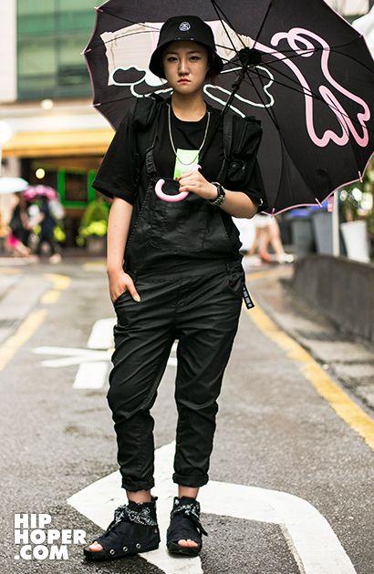 장은비 > Street Fashion   힙합퍼