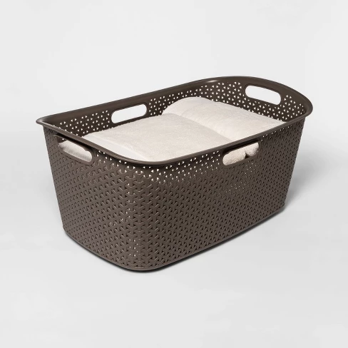 Y Weave Laundry Basket River Birch Room Essentials Woven Laundry Basket Laundry Basket Storage Baskets