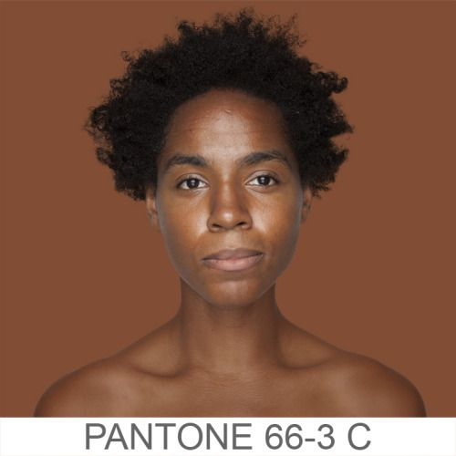 Brazilian artist Angelica Dass has created a fascinating project where she photographs people and associates them with Pantone colors. Really meaningful when viewed together. Check out the website.