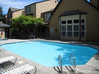 Sparkling Seasonal Swimming Pool
