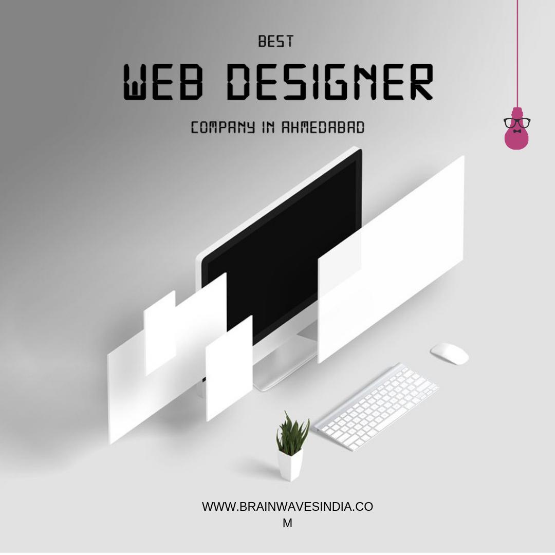 Web Design Development Company In Ahmedabad India Brainwaves Web Development Design Web Design Web Design Services
