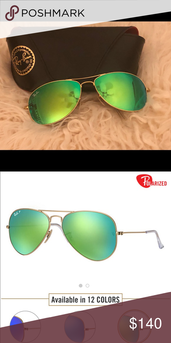 d0dbca5985 Ray Ban Aviator Flash Lenses New. Authentic. Perfect condition. Product  Details Model code