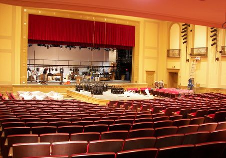 Hubbell Benes Auditorium Renovation Completed At Shaker Heights High School Interior Design