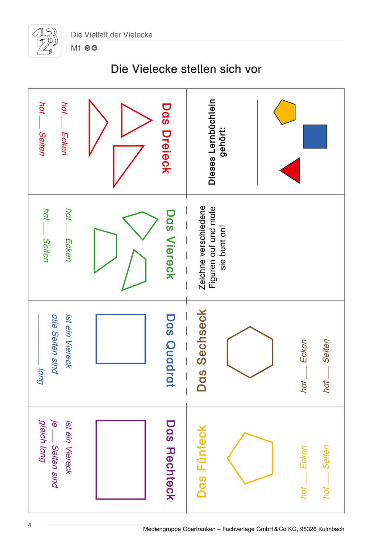 Die Vielfalt der Vielecke – Unterrichtsmaterial im Fach Mathematik ...