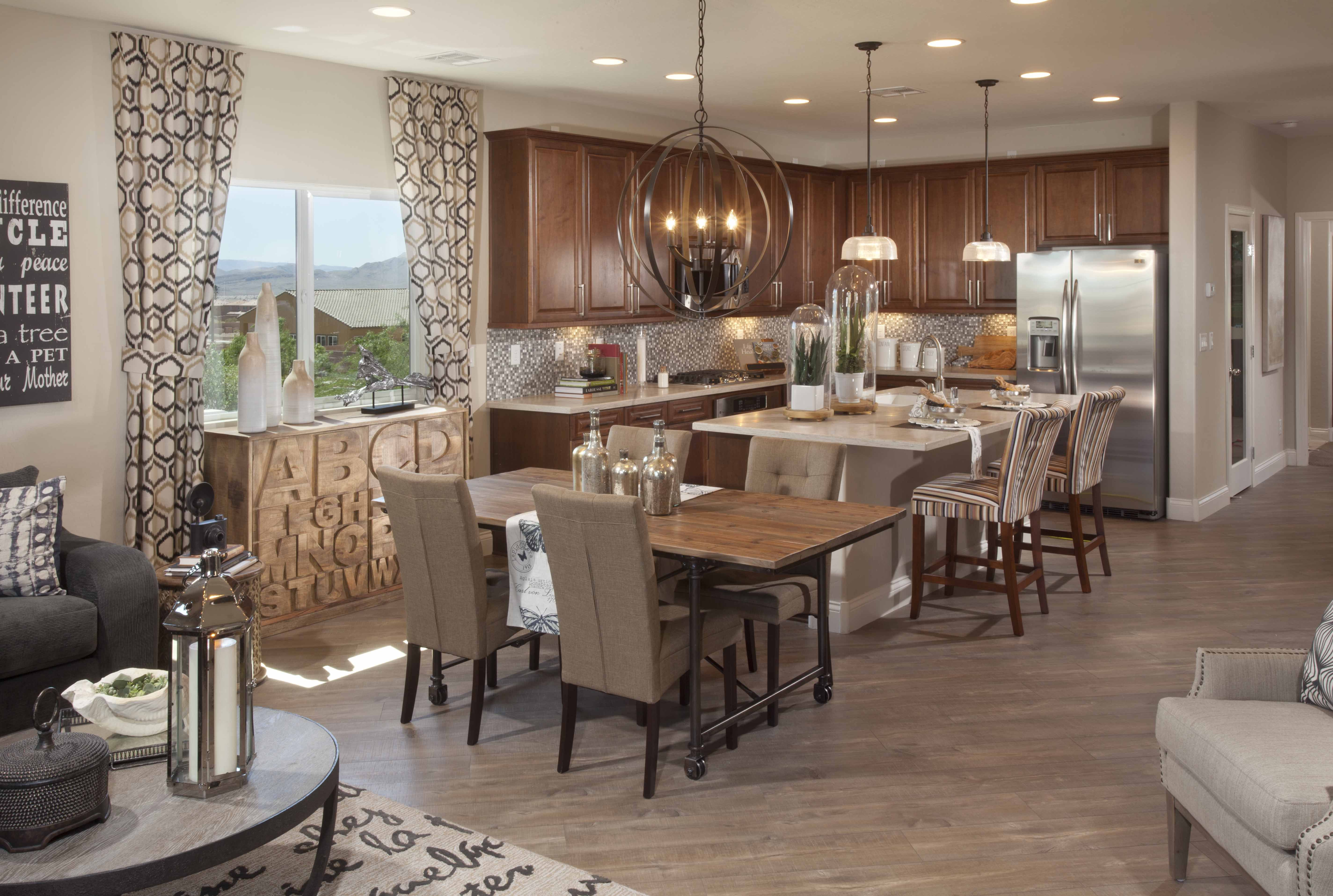Kitchen at Maravilla Vistas by Ryland Homes