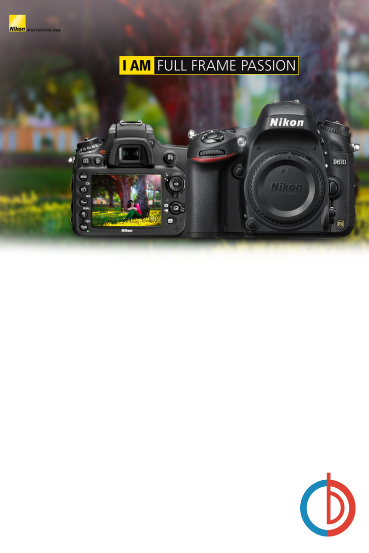 Feel the power of a 24.3 MP Nikon FX-format CMOS sensor in a compact ...