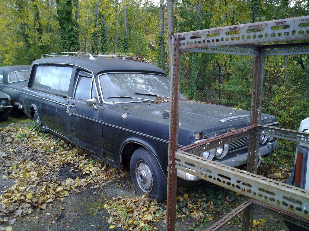 1972 Ford Zodiac Mk4 Cardinal Hearse 2 Door Hearse Abandoned Cars Ford