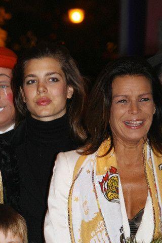 Princess Stephanie of Monaco and Charlotte Casiraghi