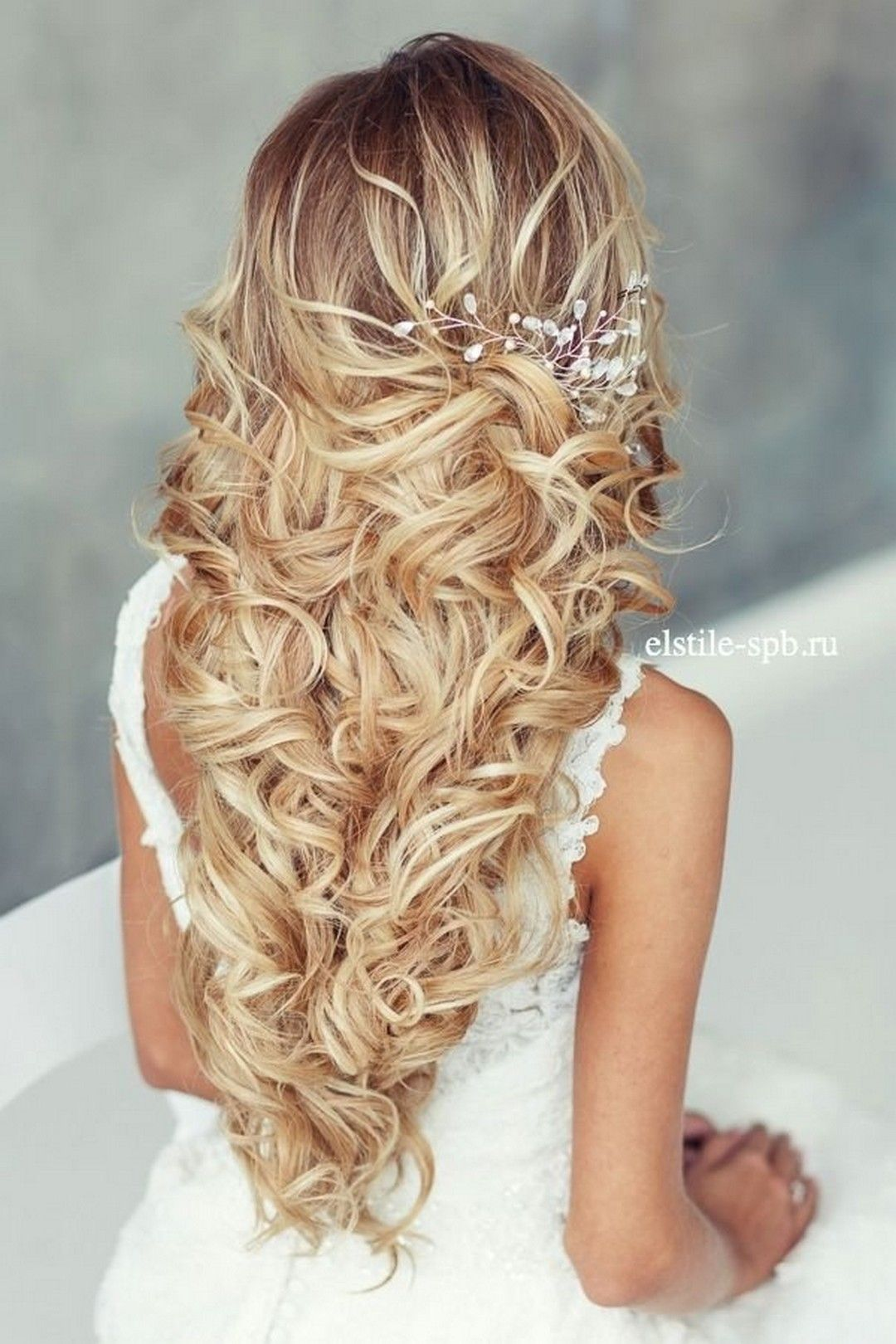 cool 65+ long bridesmaid hair and bridal hairstyles for wedding 2017
