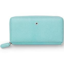 Photo of Graf von Faber-Castell wallet ladies Epsom Turquoise