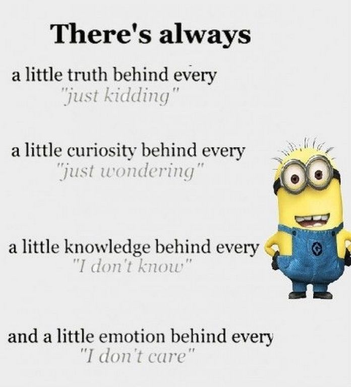 Today Funny Minion october quotes (11:27:08 AM, Monday 19, October...