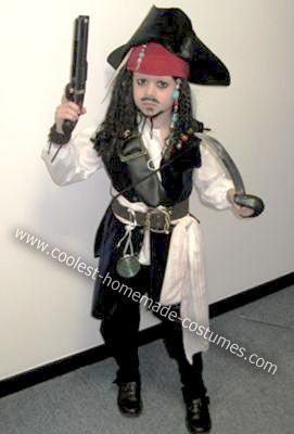 homemade captain jack sparrow halloween costume - Jack Sparrow Halloween Costumes