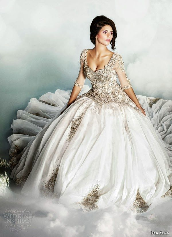 Dreaming Of A Romantic Cinderella Wedding Dress 2014 Inspired By