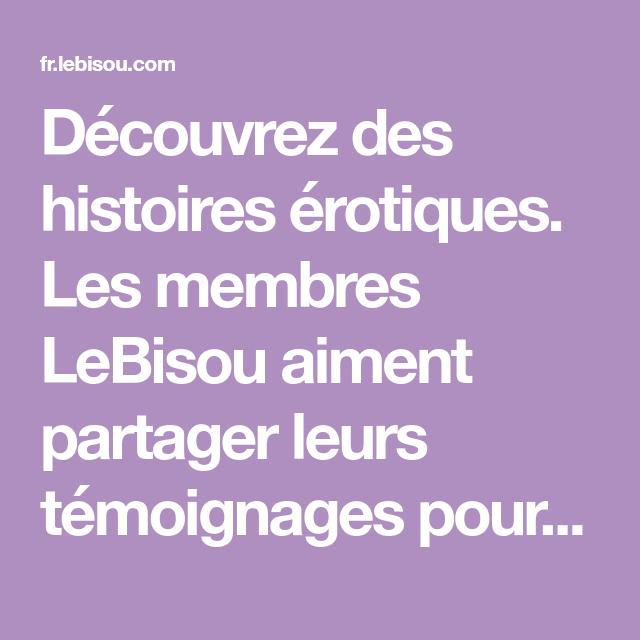 Epingle Sur Histoire Coquine