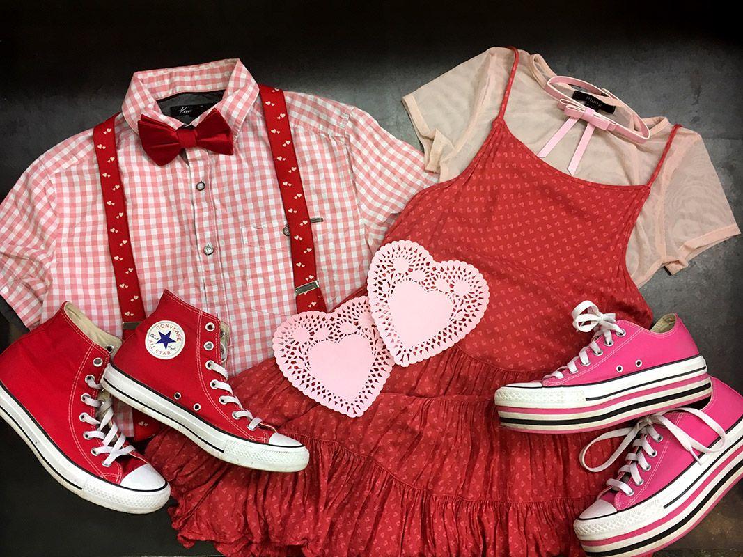 Buffalo Exchange Portland Date Night Outfit Ideas. Cute couple ...