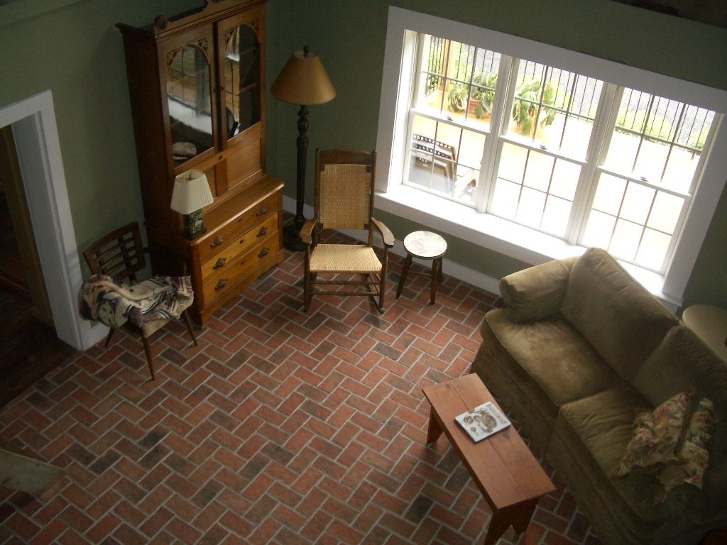 Beautiful wrights fery brick tile living room floor marietta color inglenook brick tiles thin brick flooring brick pavers ceramic brick tiles home dailygadgetfo Images