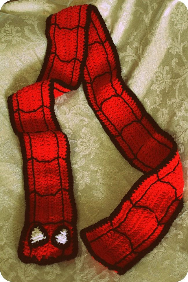 Ravelry: Spiderman Hat & Scarf Set by Natalie Tanner   just thing\'s ...