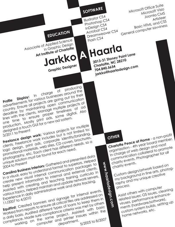 freelance graphic designer resume samples curriculum vitae - freelance resume samples
