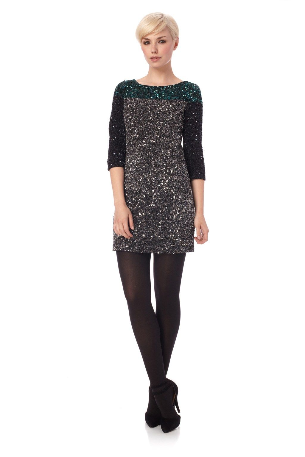Spiegal Sequins Tunic Dress - Sale - French Connection | My Style ...