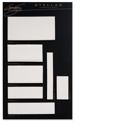 Stellar Field Tile In Creamy Crackle Tiles Backsplash