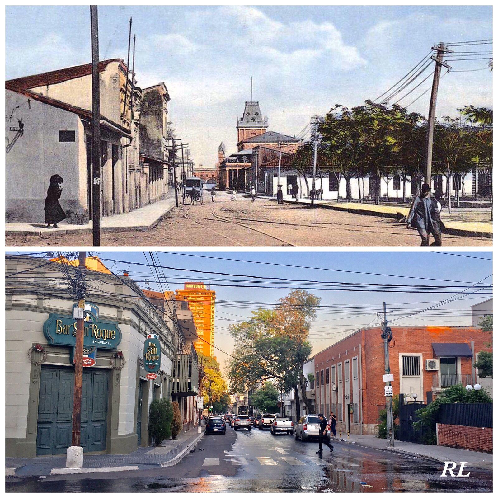 Eligio Ayala Y Tacuary De Asuncion Paraguay Street View Scenes Street