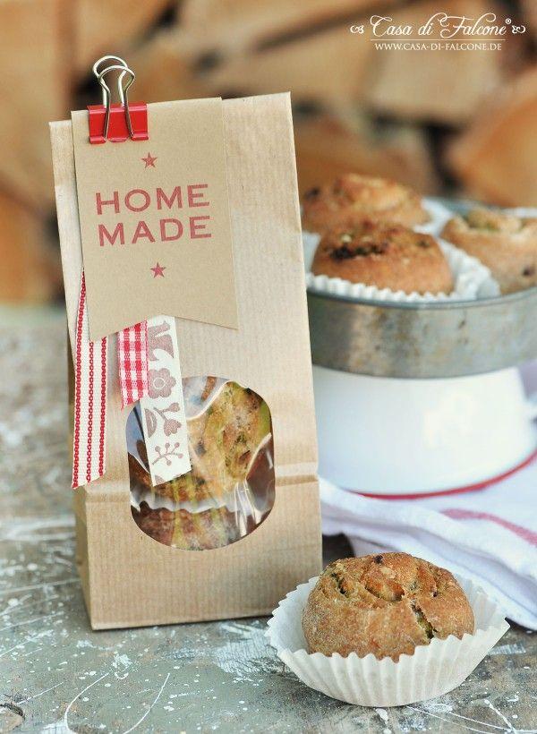Bärlauch-Parmesan-Schnecken {Rezept} I Geschenke aus der Küche I - selbstgemachtes aus der küche