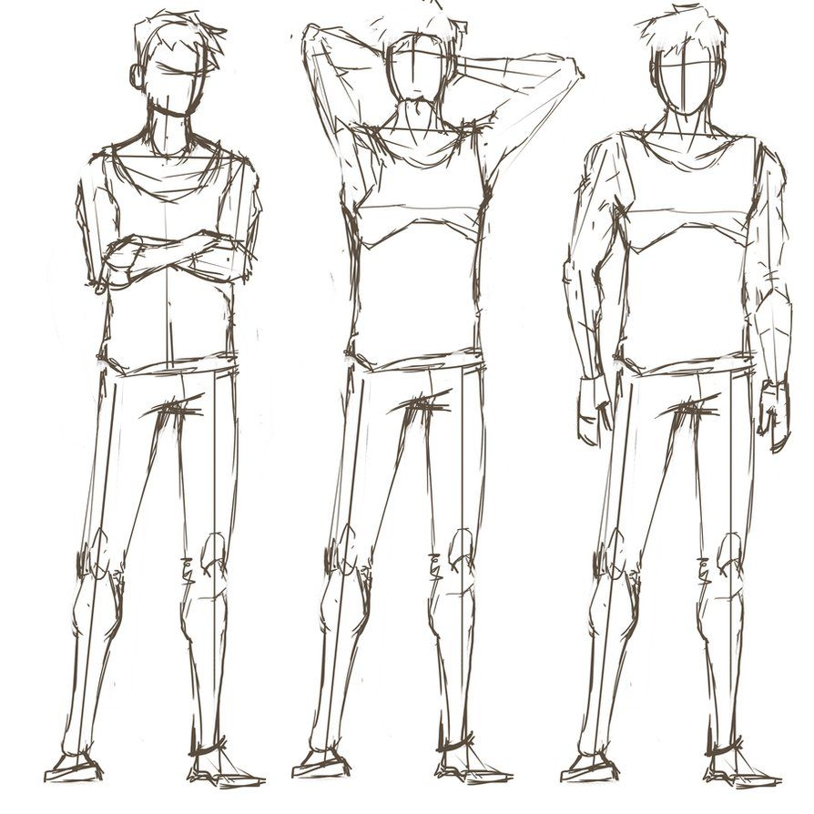 Character Pose Sketch By Retrospektre D54bgg2 Png 894 894 Drawing Poses Male Pose Reference Character Poses