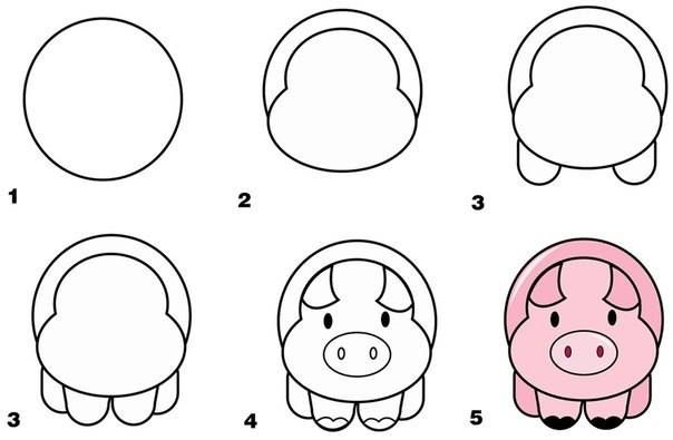 Step By Step Guide On How To Draw 9 Different Animals Even You Are
