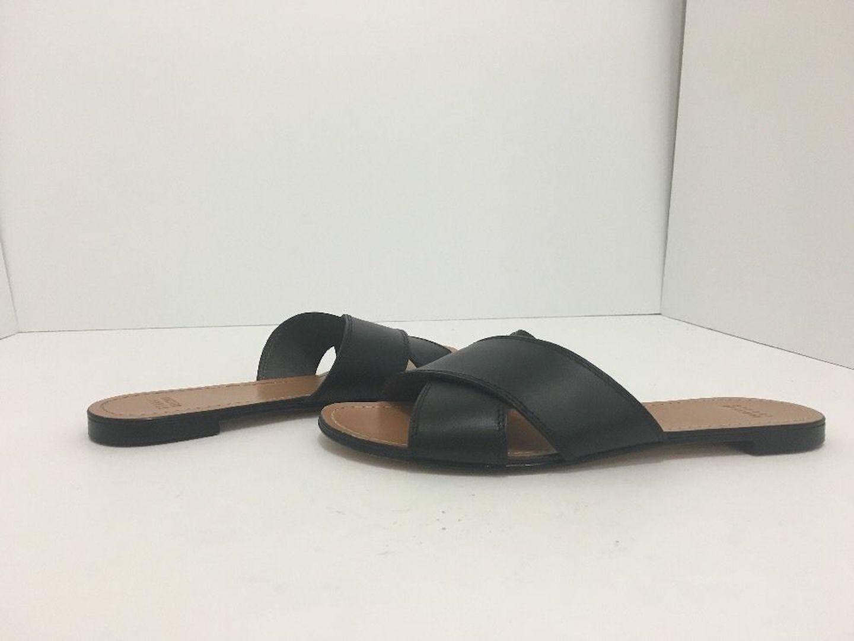 844b0dd5152367 Stuart Weitzman Black Leather Byway Women s Flip Flop Sandals Size 7 M  Flats. Get the must-have flats of this season! These Stuart Weitzman Black  Leather ...