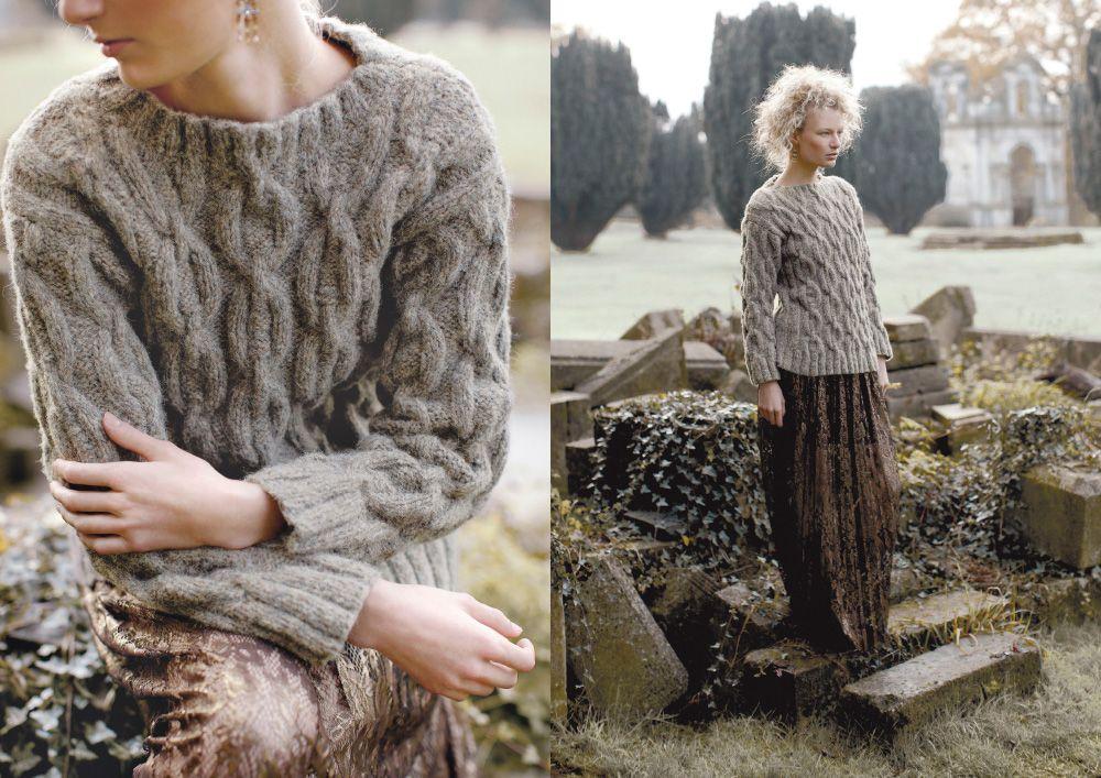 Sticka höstens finaste tröja | Sticka, Mönster, Stickat
